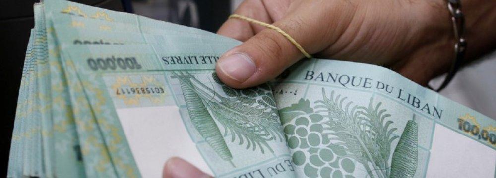 Lebanon Banks Suck in Dollars  to Maintain Peg