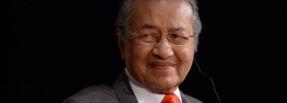 Mahathir Aims to Restore Nation's Wealth
