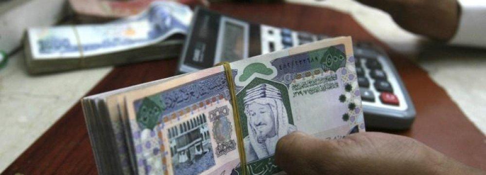 Saudi Arabia is suffering from sluggish economic growth.