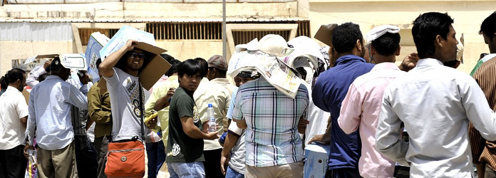 More than 32,000 illegal expatriates have left the country since the beginning of the campaign.