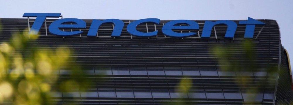 In Hong Kong internet giant Tencent sank more than 4%.