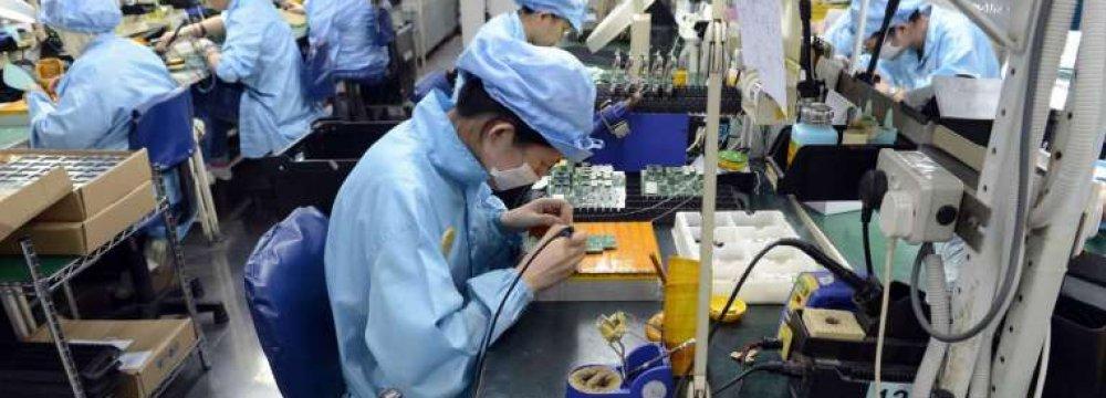 Singapore Manufacturing Up 21%