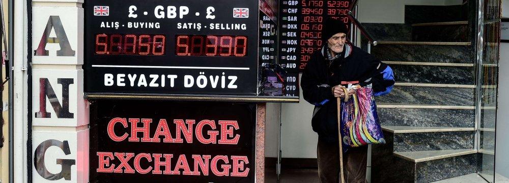 The turmoil in Turkey has rattled investors.