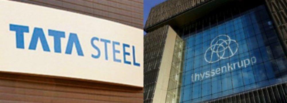 Tata, Thyssenkrupp Announce Steel Merger
