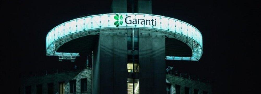 Spanish BBVA group purchased 9.95% shares in Turkey's Garanti Bank.