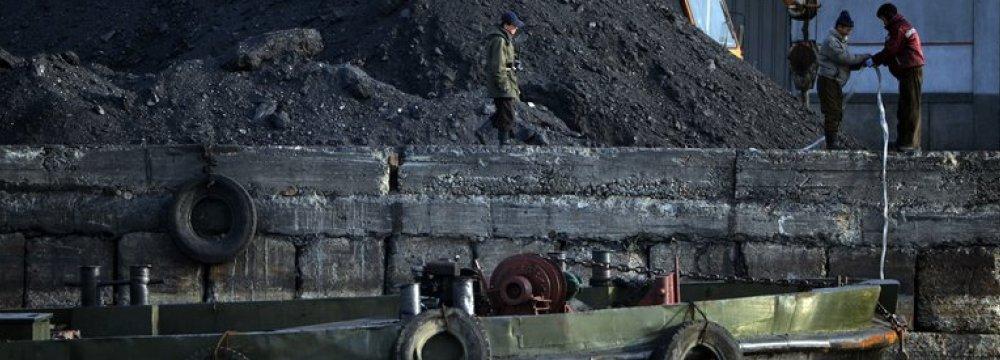 Coal has been North Korea's largest export.