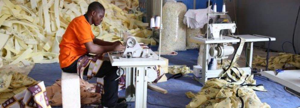 Sub-Saharan Africa is still the world's least industrialized region.