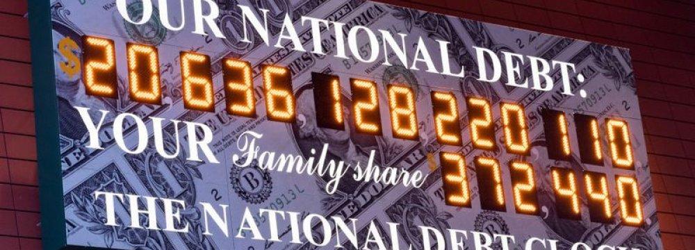 US National Debt at $21 Trillion