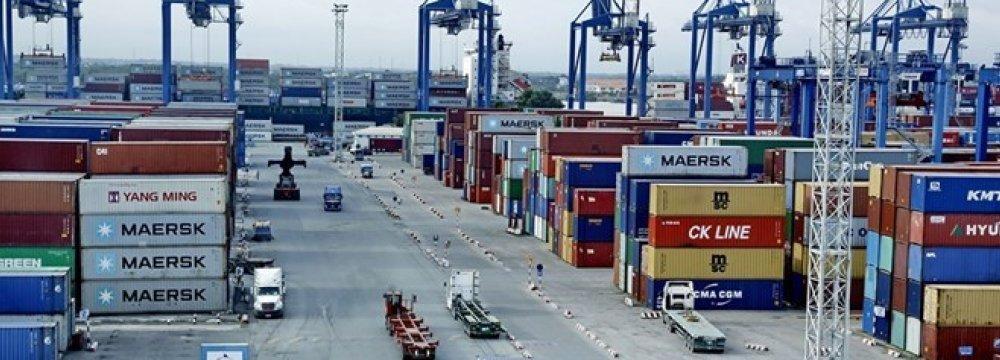 Vietnam Trade Surplus at $3.1b