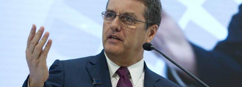 World Trade Organization's Boss Urges Strengthening Coop.