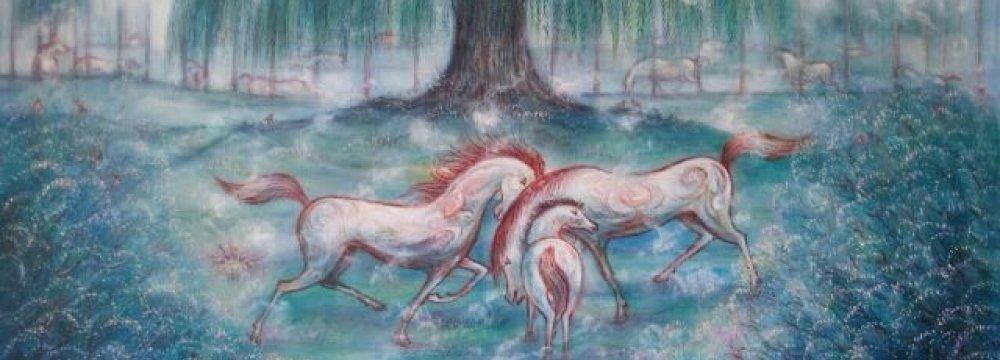 Horses & Trees