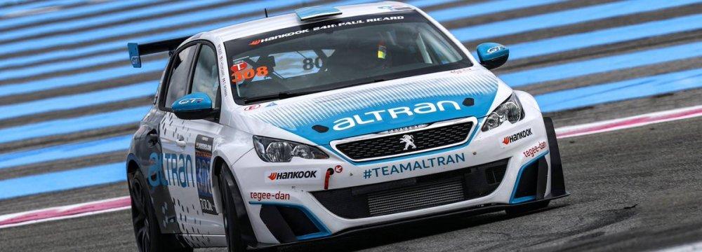 Aram Martroussian in 24 Hour Race