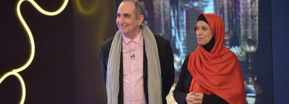 Farhad Aeesh and Maedeh Tahmasebi