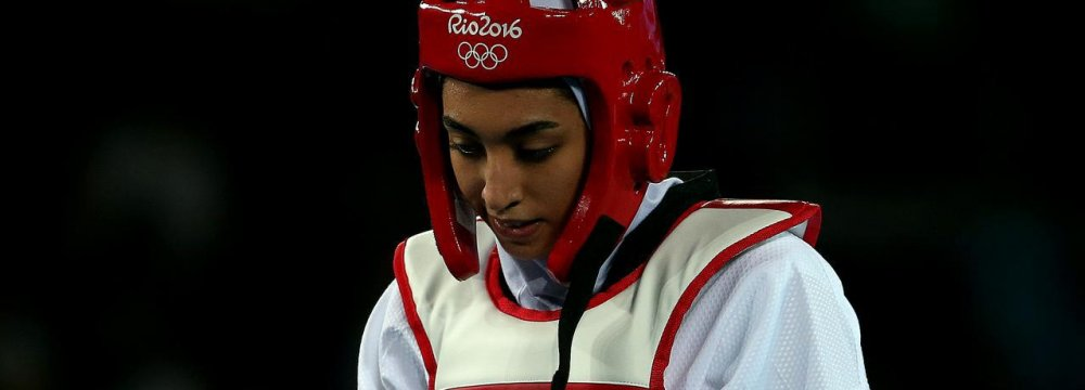 Injured Kimia Alizadeh Drops Out of Asian Games