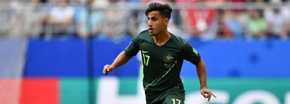Arzani Set for Manchester City Stopover en Route to Celtic