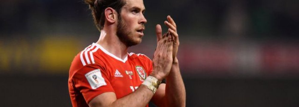 Bale Misses Wales' World Cup Qualifiers