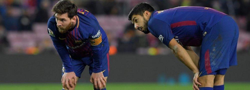 Barca Stopped Against  Getafe at Camp Nou