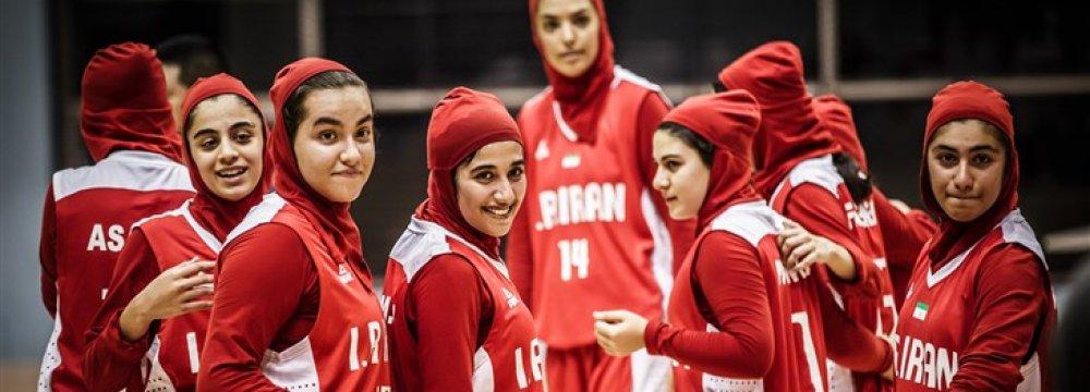 Iran U16 Women basketball team