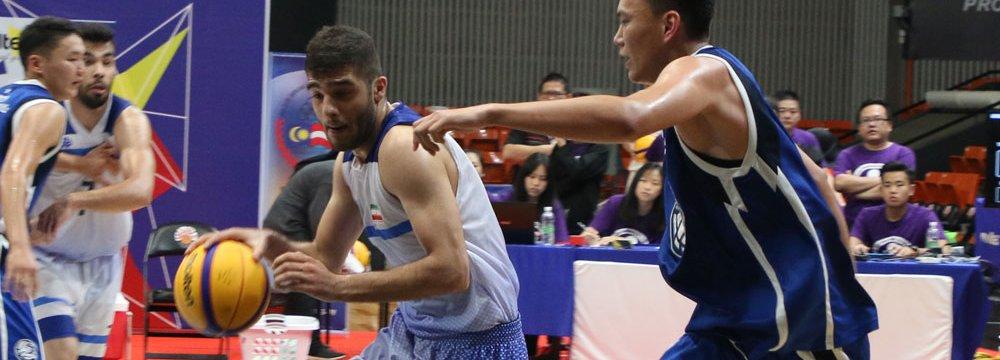 Iran played Mongolia in semis.