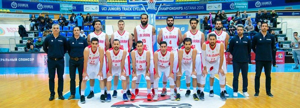Iran national basketball team