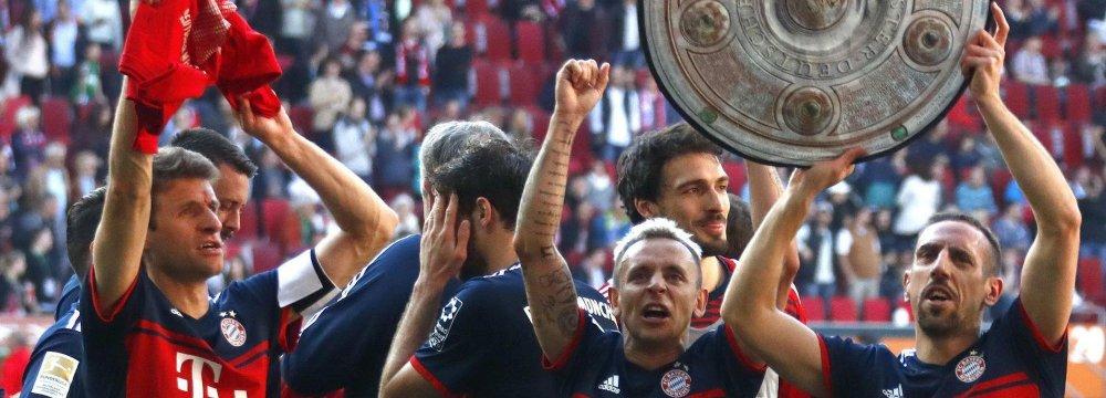 Bayern Munich Wins 6th Consecutive Title