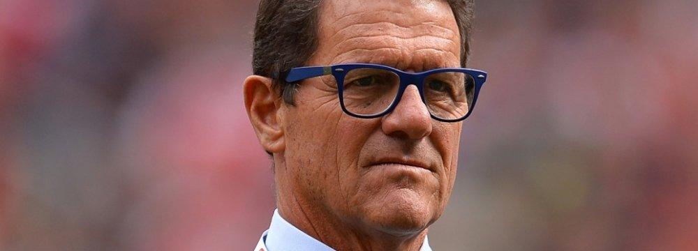 Fabio Capello Retires, Letting Down Italian Job