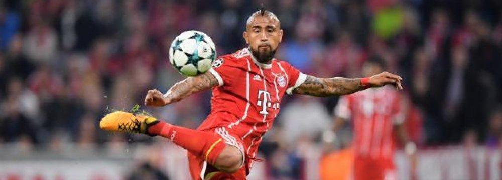 Chelsea Offers £32.7 Million for  Bayern Munich's Arturo Vidal