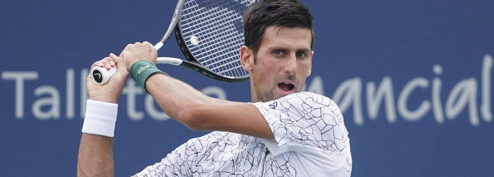 Novak Djokovic Wins Cincinnati Masters Cup