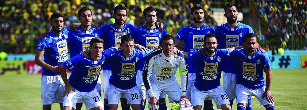 Members of Esteghlal F.C.