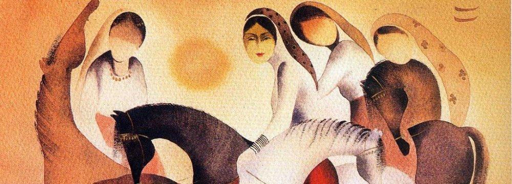 Art Center to Display Taraghijah Paintings