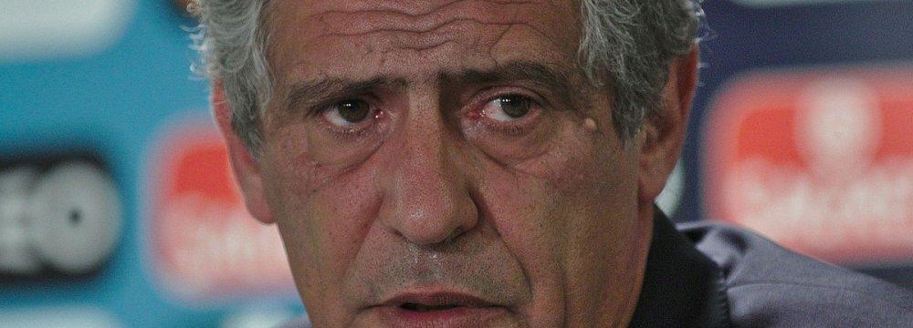 Portugal Coach Santos Cautious About Iran, Morocco