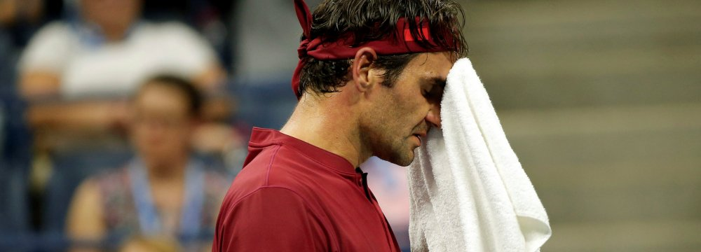 Roger Federer Out of US Open