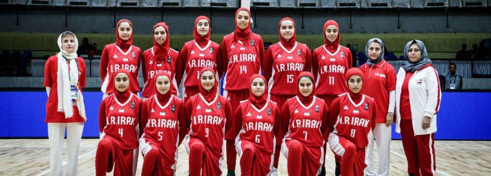 Iran's national U-16 women's team