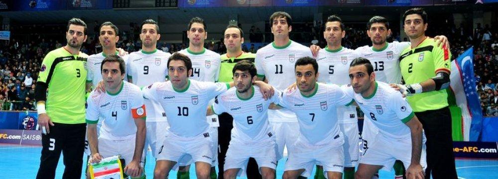 Tehran to Host Quadripartite Futsal Tournament