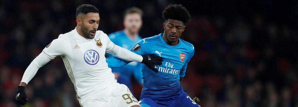 Saman Ghoddos Under Manchester City Radar