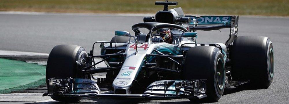 Hamilton Leads in British F1Grand Prix Practice