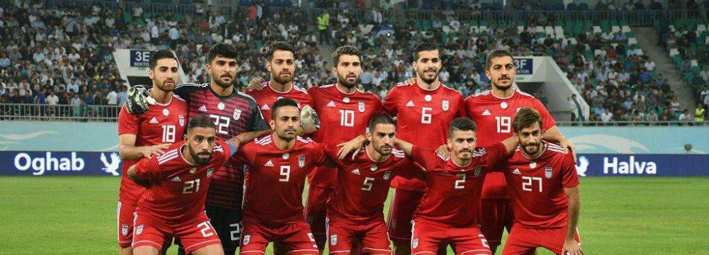 Team Melli Starts With 1-0 Win Against Uzbeks