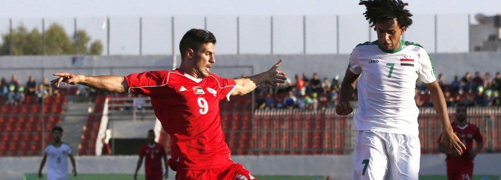 Iraq Plays First Match in Occupied Palestine