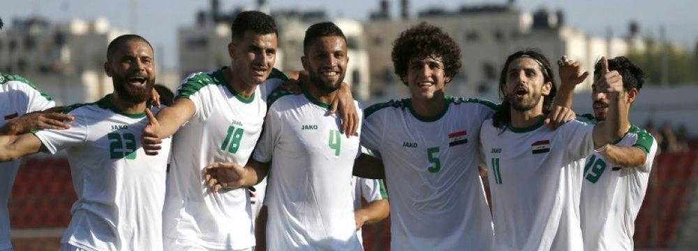 Iraq team members