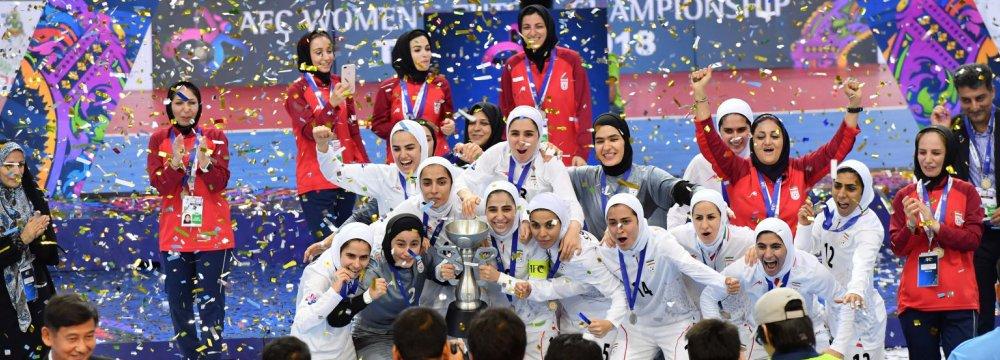 Iran was the winner of the 2018 AFC Women's Futsal Championships.