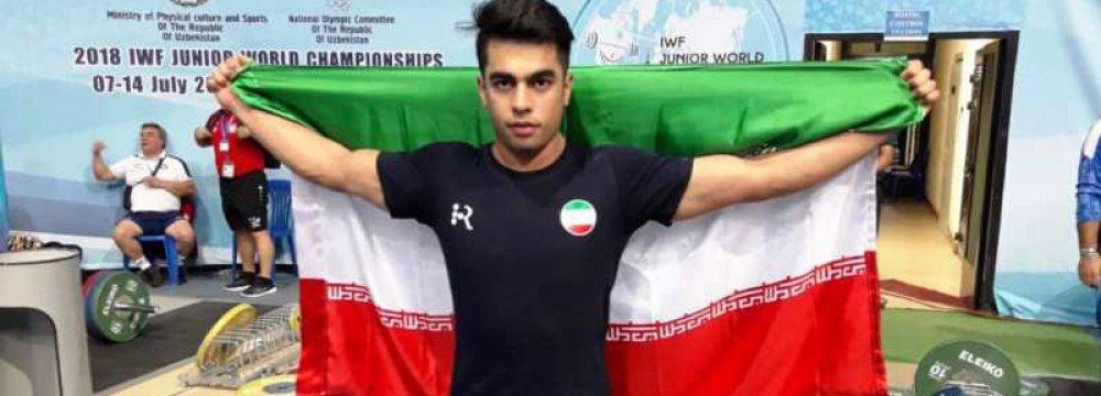 Soltani Wins IWF Junior Title