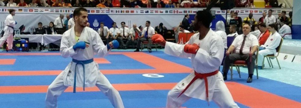 Karatekas Win 3 Gold at World League