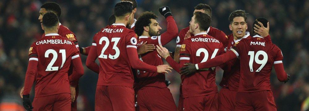 Liverpool Cuts Man City Winning Streak