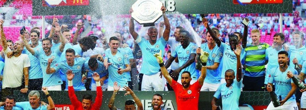 Man City Wins Community Shield 2018