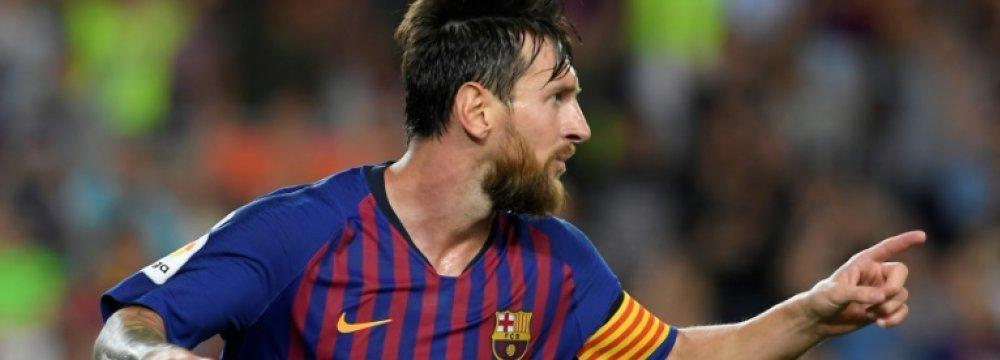 Messi Scores Barca's 6,000th La Liga Goal