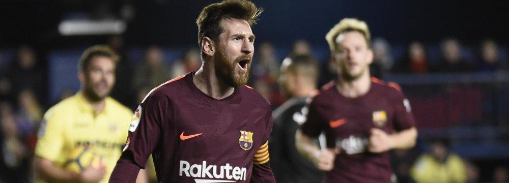 Lionel Messi Levels Gerd Mueller's Record