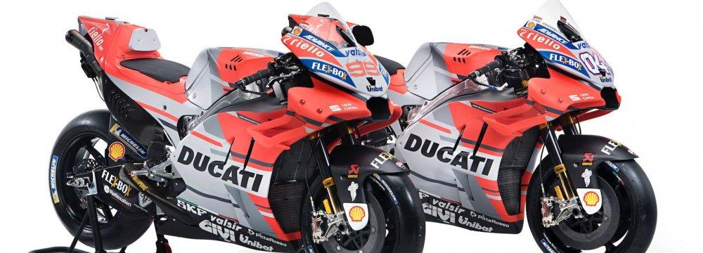Ducati MotoGP Bike Exposed