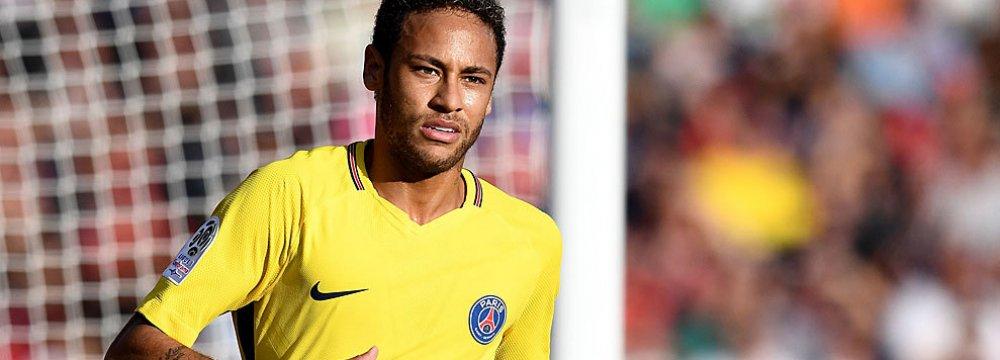 Neymar Set for Whopping Bonus