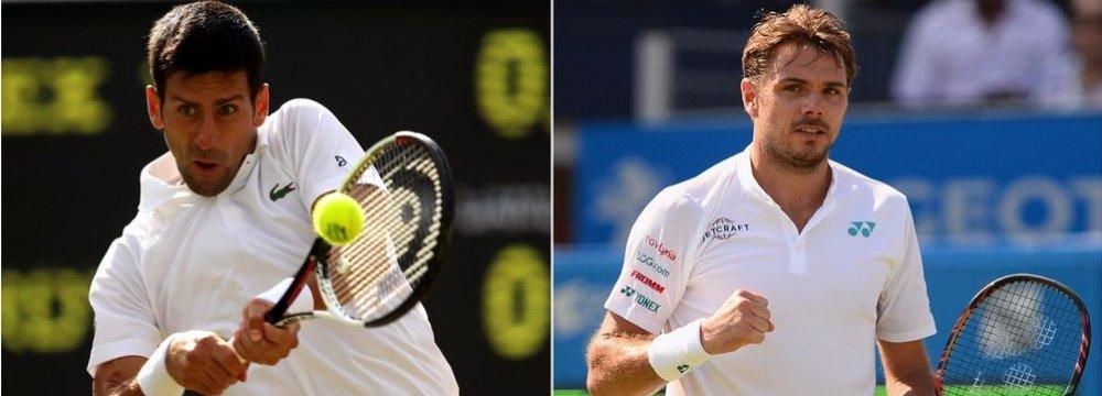 Djokovic, Wawrinka Will Return to Court