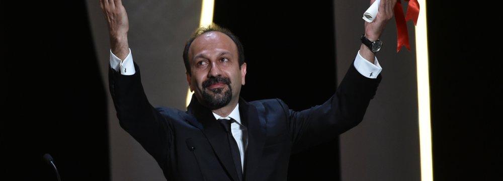 Asghar Farhadi in Cannes 2016